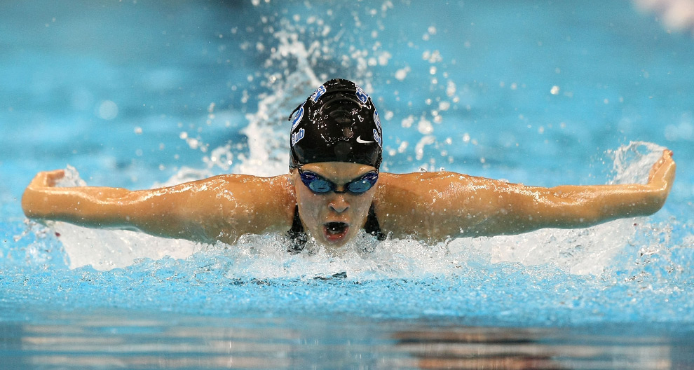 Records fall at u s olympic swimming trials photos - How many meters is a olympic swimming pool ...