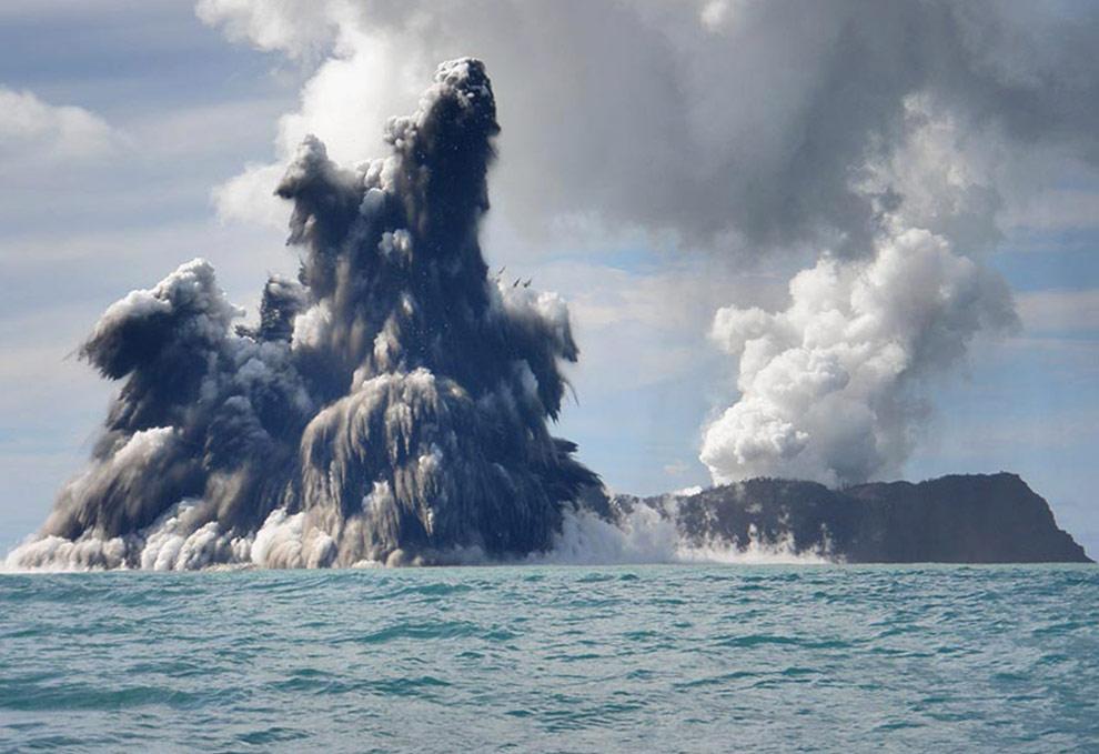 undersea volcano