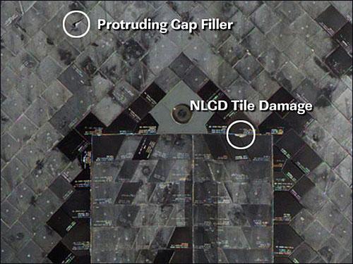 space shuttle atlantis tile damage - photo #38