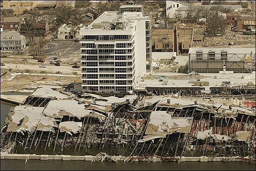 Hurricane Katrina Aerial Views Of The Destruction Boston Com