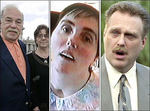 Right die terri schiavo case