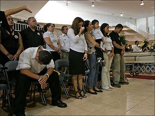 Funeral for Milena Del Valle - Boston.com