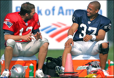 Remarkable, rodney harrison gay think, that