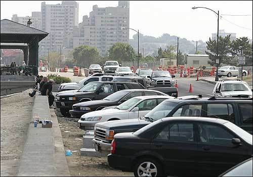 Diagonal Parking Along Revere Beach Will Give Way To Parallel When The Improvements Are Finished