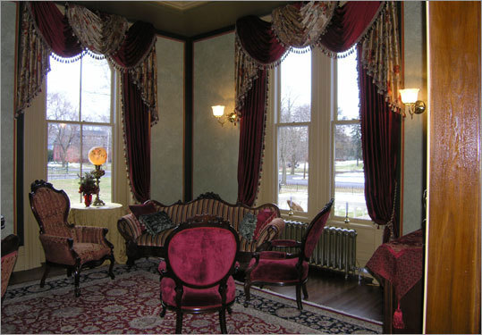 The 1873 French Second Empire Mansion In Wethersfield Conn Was Red After A