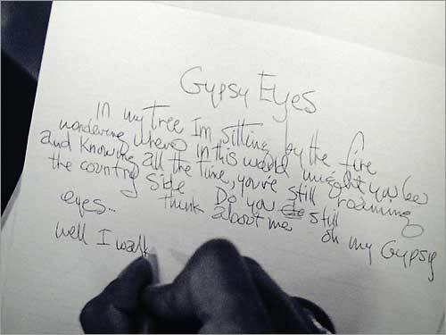 Kurt Cobain's Suicide Note Analyzed
