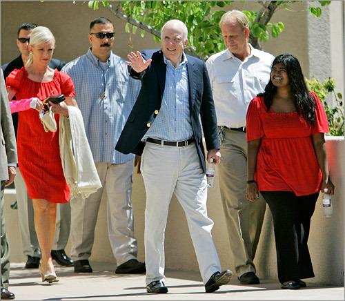Bridget Mccain: Franken Calls His Earlier Knock On McCain's War Record 'a