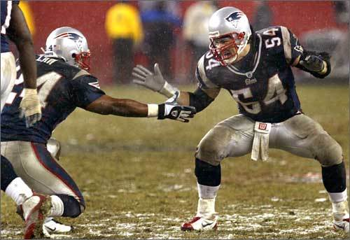 Tedy Bruschi Through The Years Boston