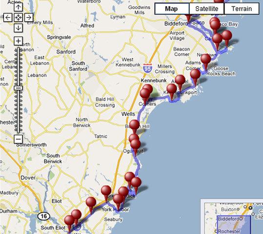 Driving Tour New England Coast Discover New England