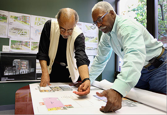 Celebrated African-American architectural team helped ...