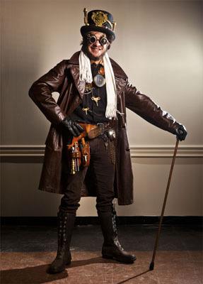 Modern Steampunk Fashion Men