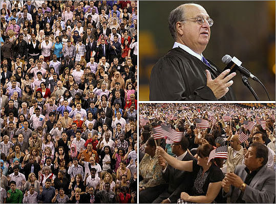 More than 3,000 new citizens took the oath - Boston com