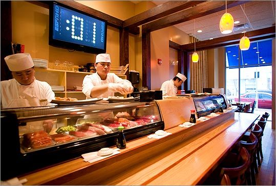 Want Great Sushi Head To Medford The Boston Globe (1 tuna, 1 salmon, 1 yellowtail, 1 crab stick, 1 surf clam, 1 white tuna, 1 mackerel) $16.95. boston com