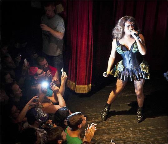 Drag Queen Jujubee In The Spotlight Bostoncom