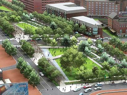 Project Greenway The Boston Globe