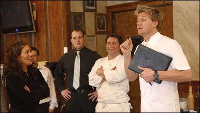 On Fox S Kitchen Nightmares Gordon Ramsay Dishes Up Food And Profanity The Boston Globe