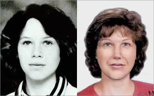 Boston Globe - Kim Moreau, missing in Maine