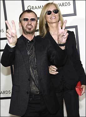 Rockin' the red carpet at the 50th annual Grammy Awards ...
