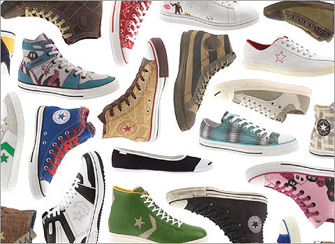 One of the world s most famous sneaker brands is marking its 100th  anniversary this year. Converse shoes have traveled through some of the  most pivotal ... 982bd196950a
