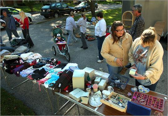 6 Tips For Hosting A Yard Sale Boston Com