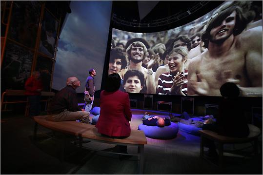 Woodstock's spirit plays on - The Boston Globe
