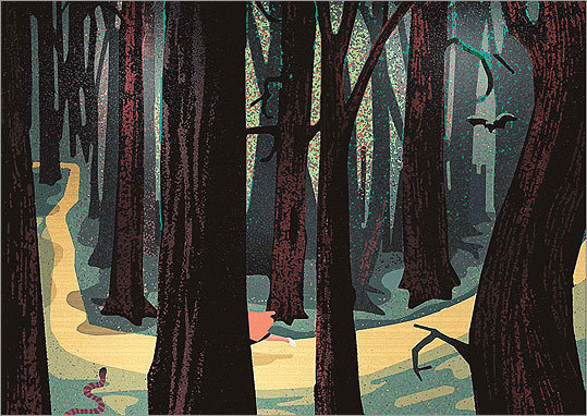 The Dark Forest Of Childhood The Boston Globe
