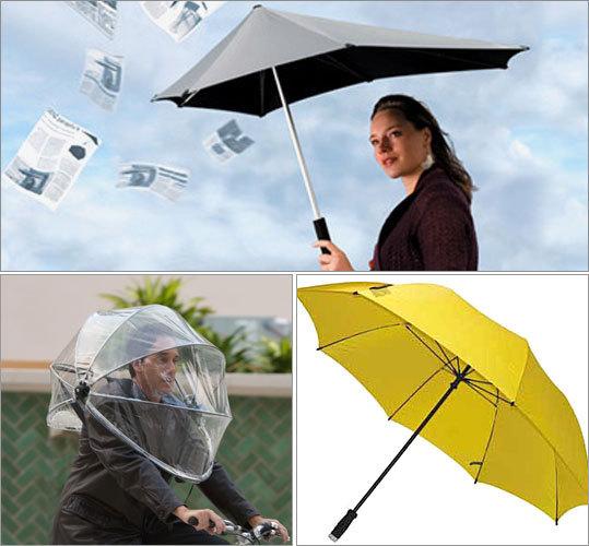 Tough Umbrellas That Battle Wind, Rain