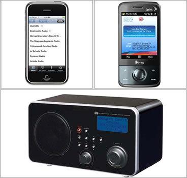 Apps turn your smartphone into a radio - Boston com