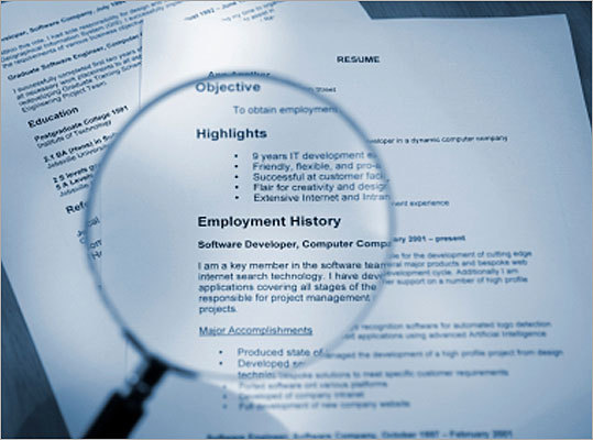 how to fill the gaps in your resume boston com