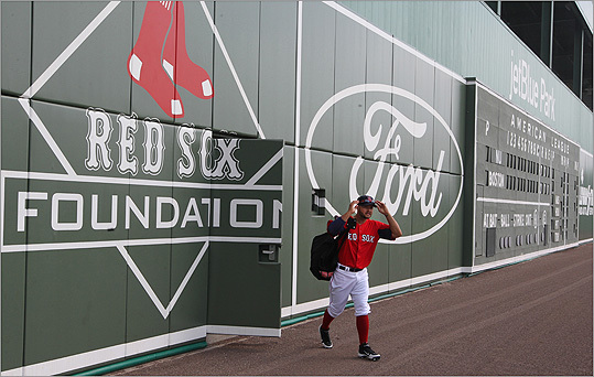 Boston Red Sox Green Monster At Jetblue Park Has Its Own