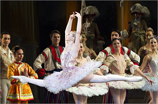 Did you know the Sugar Plum Fairy wears two spectacular tutus in Boston Balletu0027s The Nutcracker  sc 1 st  Boston.com & The Sugar Plum Fairyu0027s big costume change - Boston.com