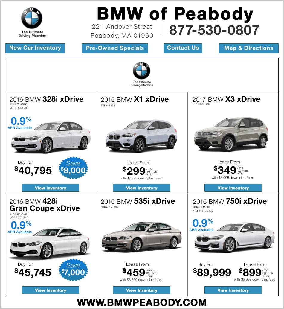 BMW Lease Deals