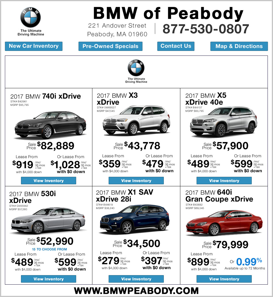 BMW Lease Deals
