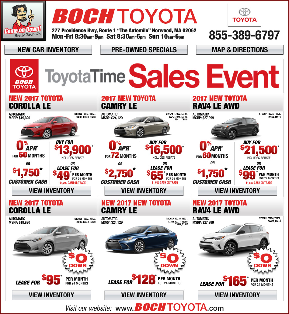 Boch Toyota On The Automile in Norwood, MA
