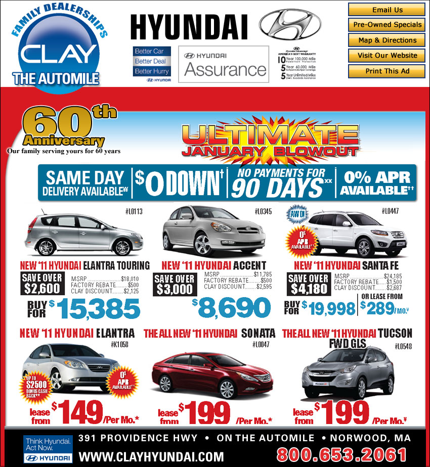 0 Down W A C On Select Models See Dealer For Details 唵0 Annual Percentage Rate Financing Available Elantra Up To 60 Mos Santa Fe 48