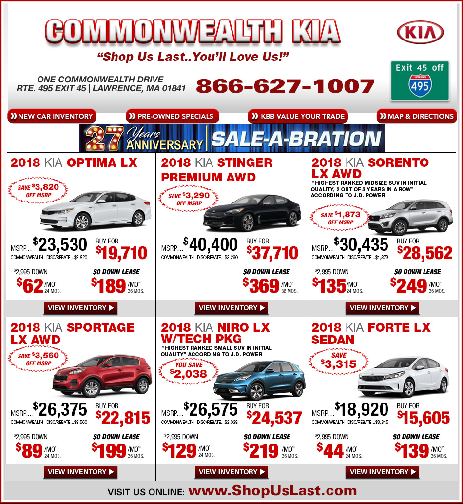 optima lawrence offers special lease kia lx