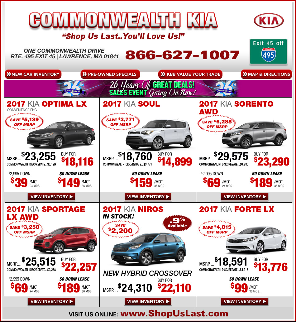 Commonwealth Motors Kia 28 Images Commonwealth Kia