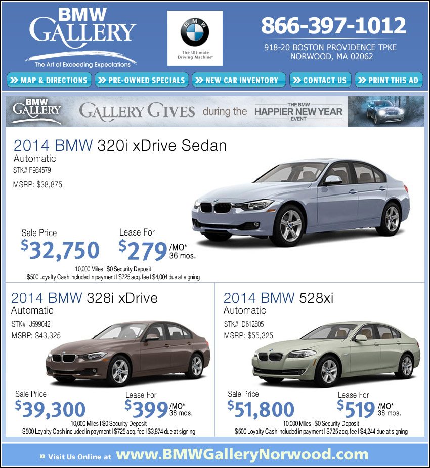 2017 Bmw 320i Lease Deals