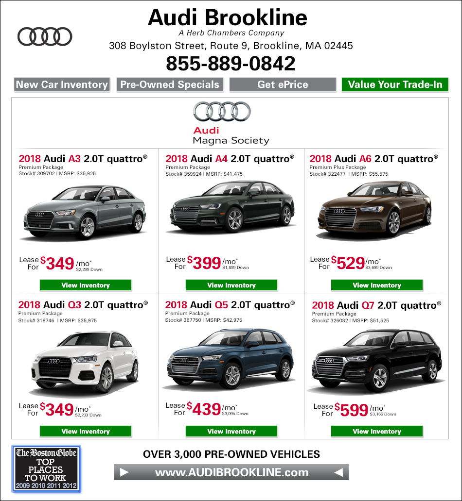 Bmw Lease Deals Ma >> Current Audi Specials New Used Audi Dealer In Brookline Ma