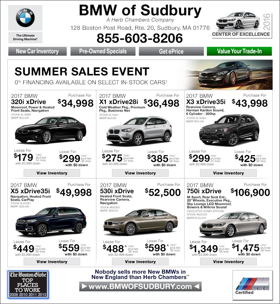 Herb Chambers BMW Sudbury >> BMW of Sudbury - A Herb Chambers Company | Boston BMW Dealers