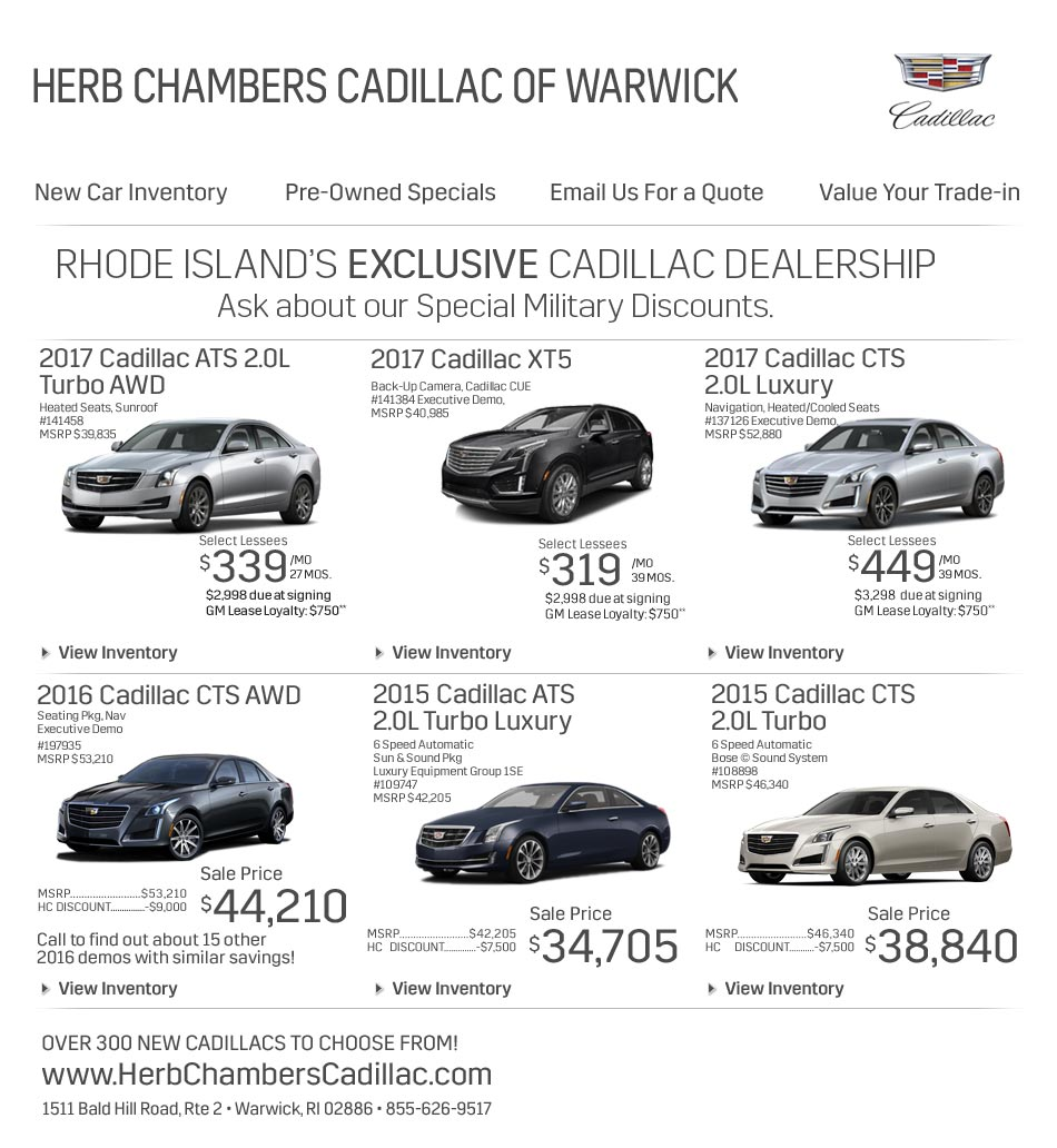 Warwick Rhode Island Cadillac