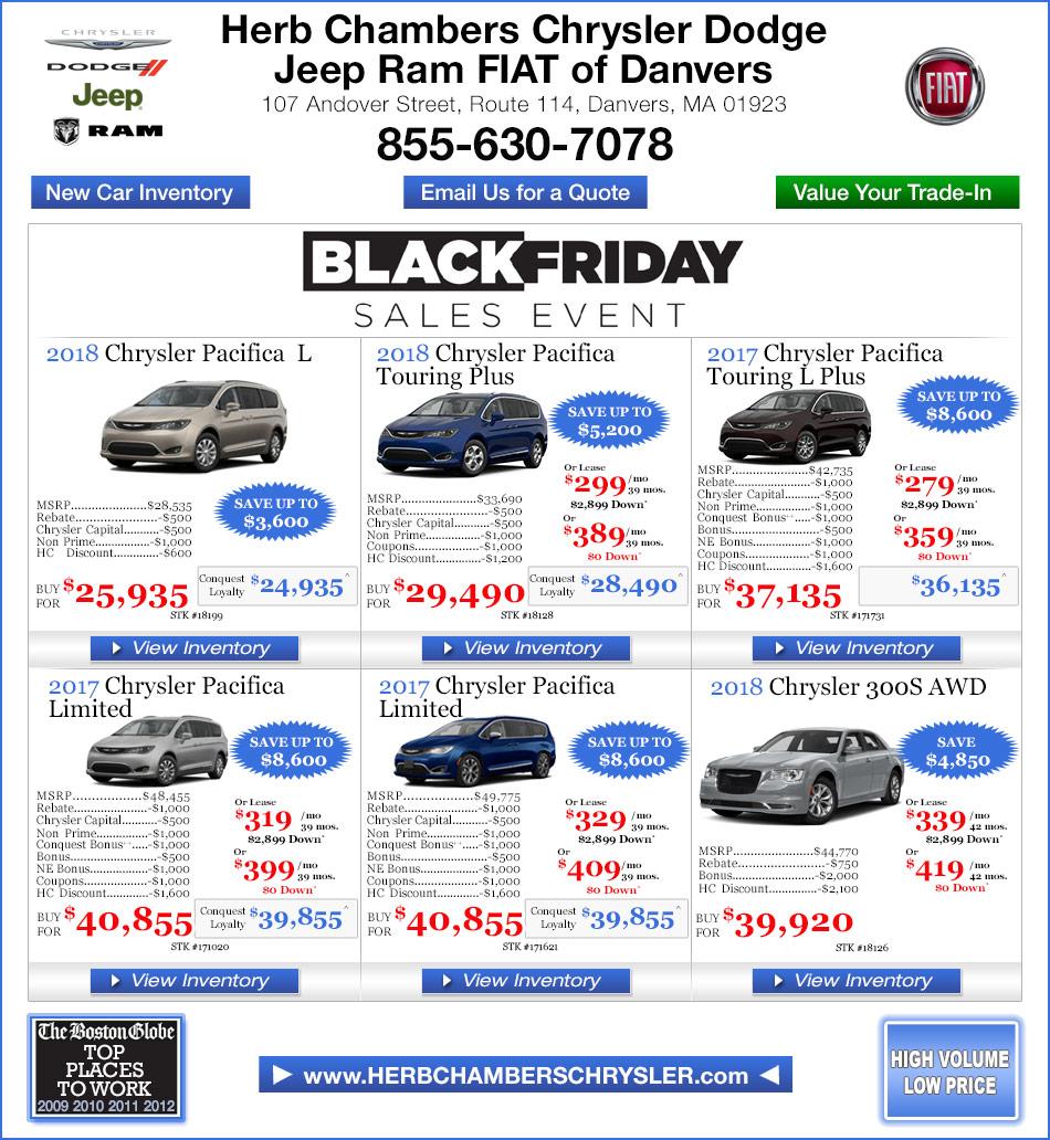 Herb Chambers Jeep >> Herb Chambers Chrysler Dodge Jeep Ram Fiat Of Millbury | Autos Post