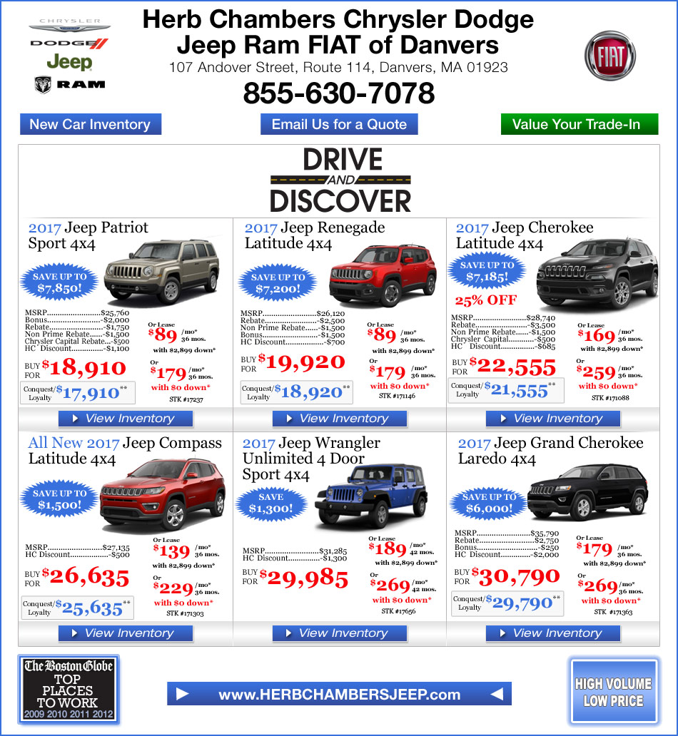 Ford Dealers Ma >> Jeep Specials Quirk Cars Quirk Auto Dealers New | Autos Post