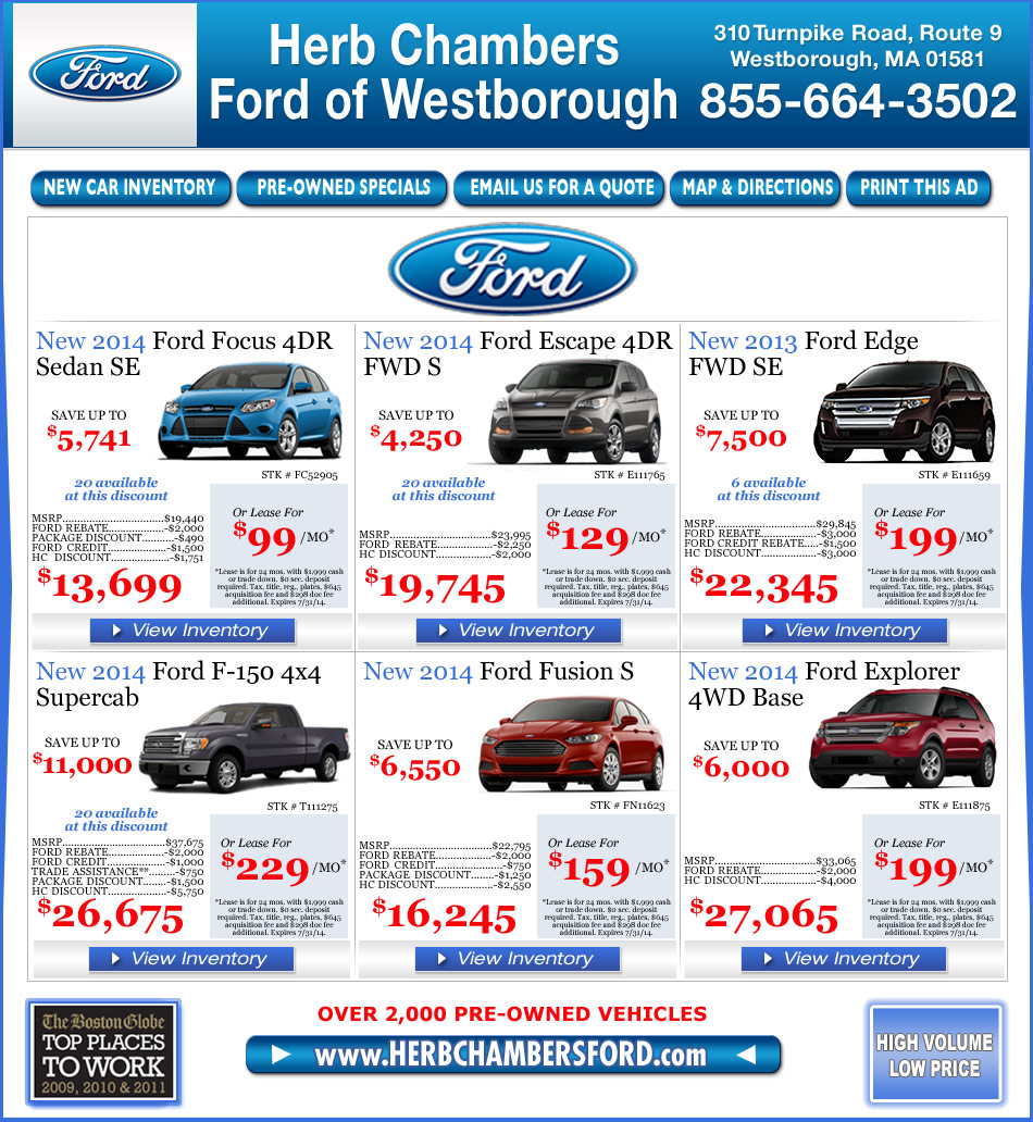 herb chambers ford westborough. Black Bedroom Furniture Sets. Home Design Ideas