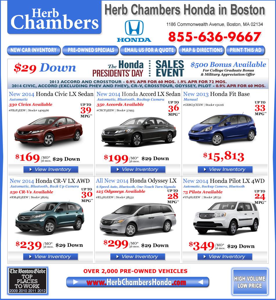 Lease Bmw 428i: Herb Chambers Honda In Boston