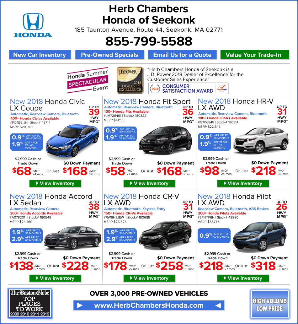 Lease deals in ri lamoureph blog for Saccucci honda middletown rhode island