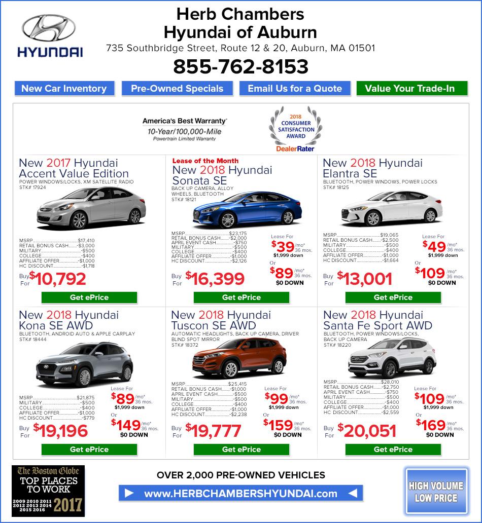 Herb Chambers Hyundai 2019 2020 New Car Release Date