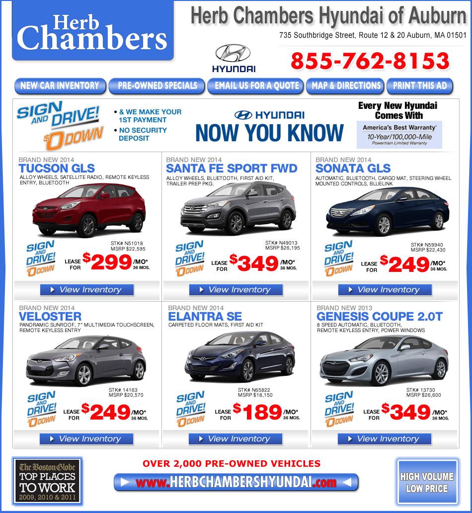Lease Bmw 428i: Herb Chambers Hyundai Of Auburn
