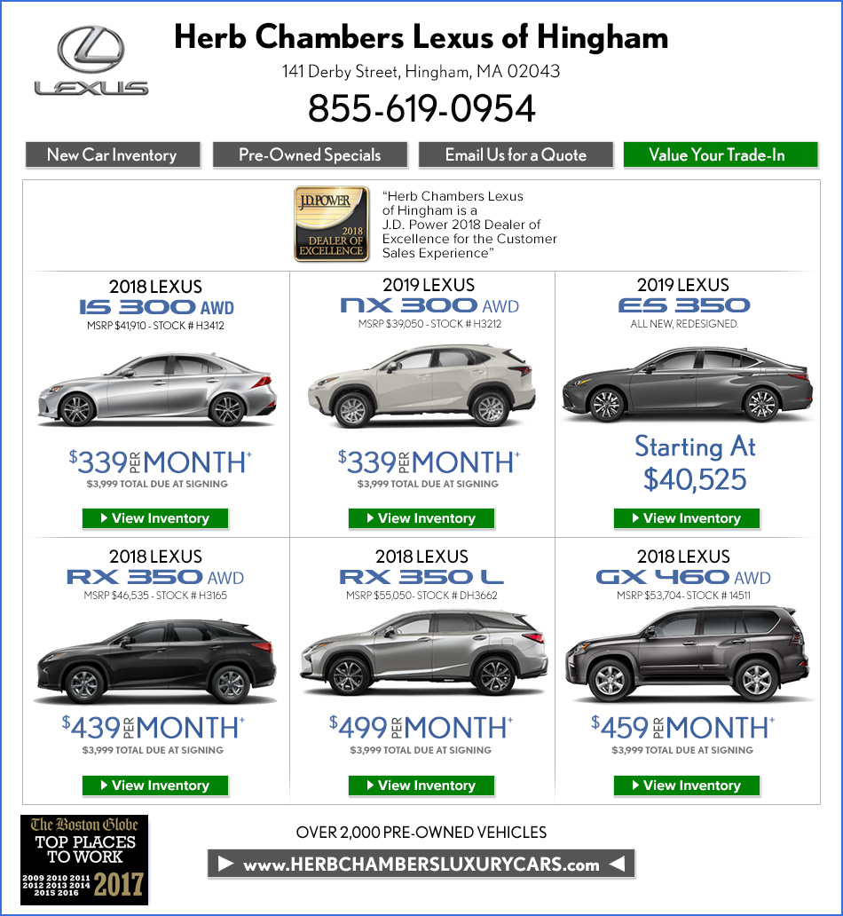 Available At Herb Chambers Alfa Romeo 10/12/18 To Qualified Lessees With  Tier 1 Approved Credit Through Chrysler Capital . Delivery By 10/12/18  Required.