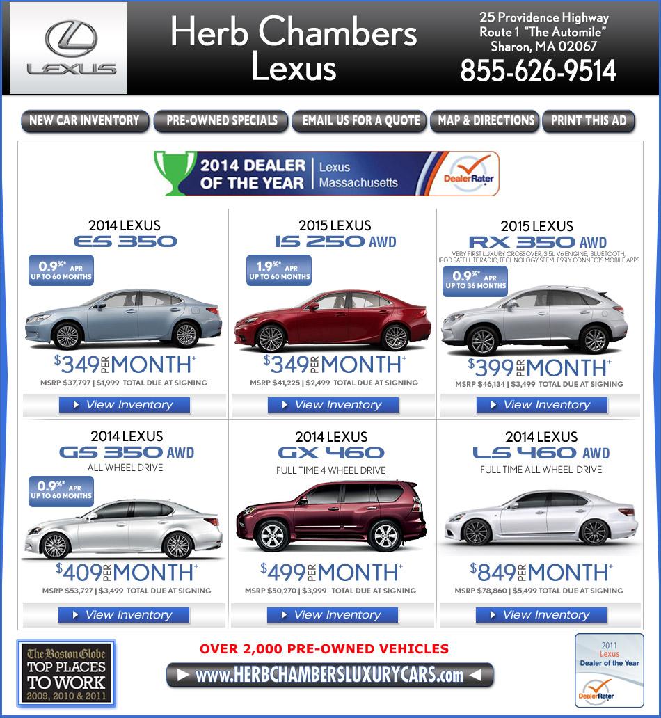 Boston Lexus Dealers Automile Norwood